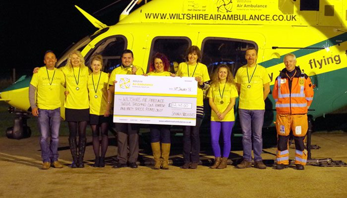 Sahara Walkers Raise £12,000 for Wiltshire Air Ambulance