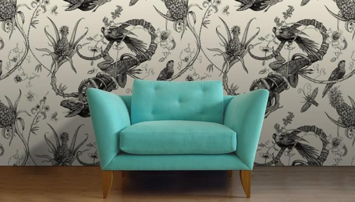 Teal Oriel Chair from Rume