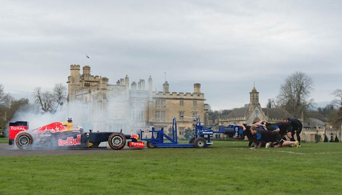 When F1 came to Bath Rugby