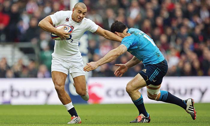 Jonathan Joseph in action for England