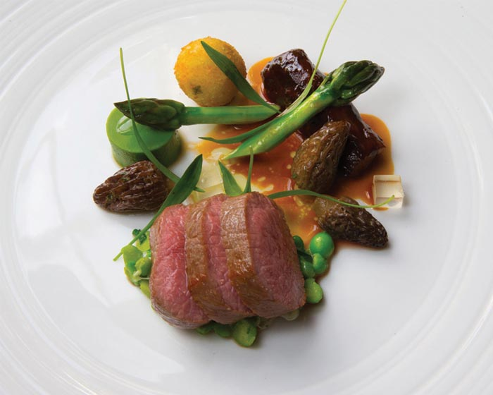 Lucknam Park Sunday lunch is £39 per person for three courses