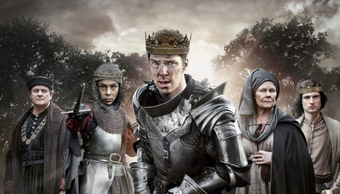 The Hollow Crown at Lacock Abbey