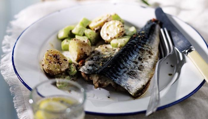 Grilled Mackerel & New Potato Salad